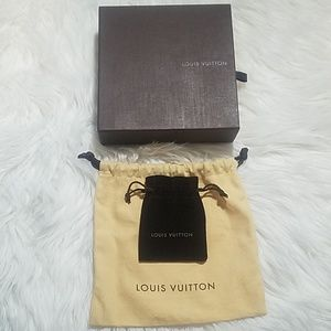 Louis Vuitton box and bags
